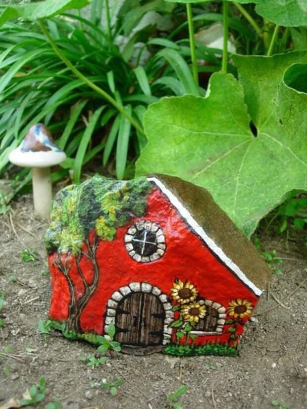 домики из камней2