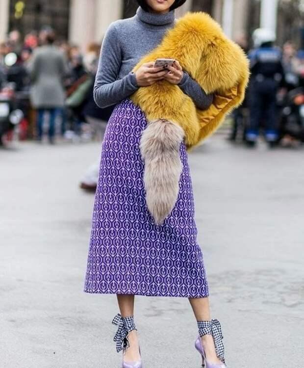 Весенняя юбка-миди: 24 потрясающих образа сезона 2018