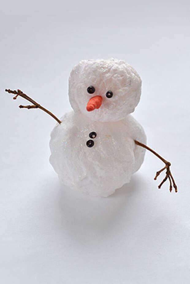 Соберите снеговика