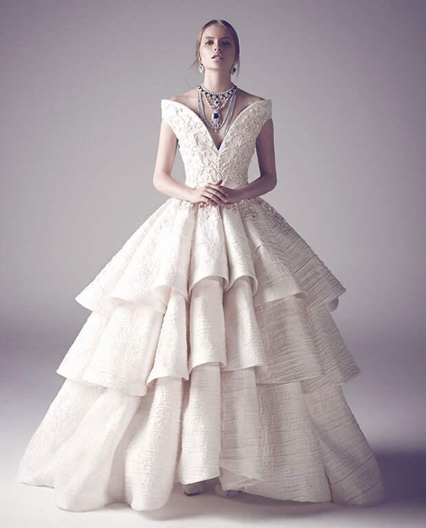 Для невесты с фантазией: кутюрные платья Ashi Studio