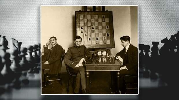Алехин и Хосе Рауль Капабланка на петербургском шахматном турнире 1914 года. Коллаж © L!FE. Фото: © wikipedia.org