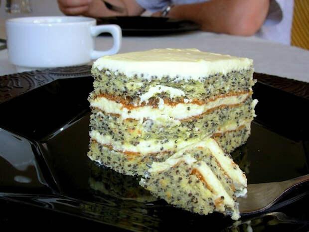 Вкусная выпечка. Маковый торт и маковый пирог (2) (640x480, 233Kb)