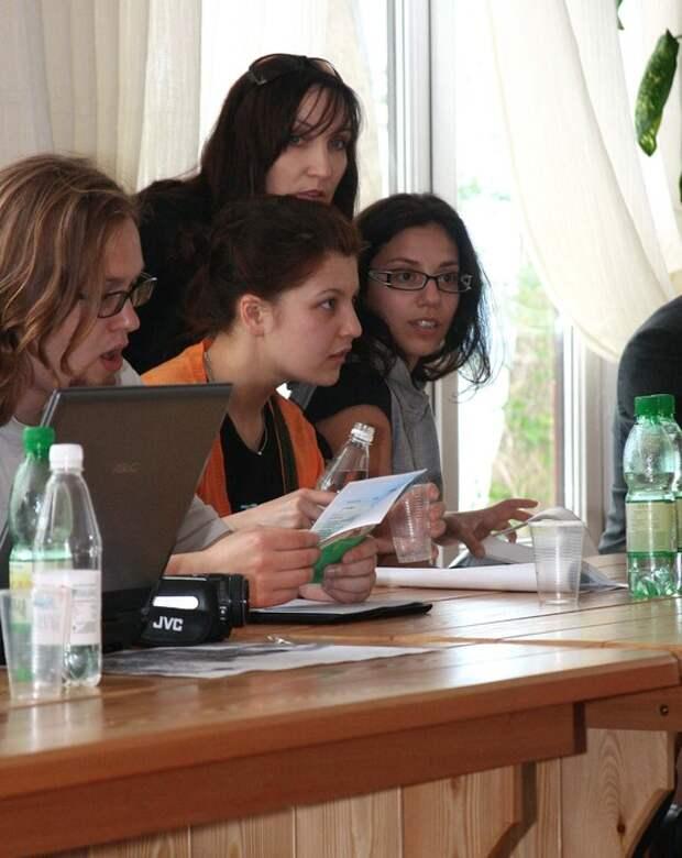 Международный пленэр по  дизайну  парковой  среды