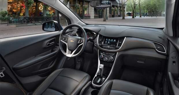 Chevrolet Trax: самому популярному в США маленькому SUV добавили мощности