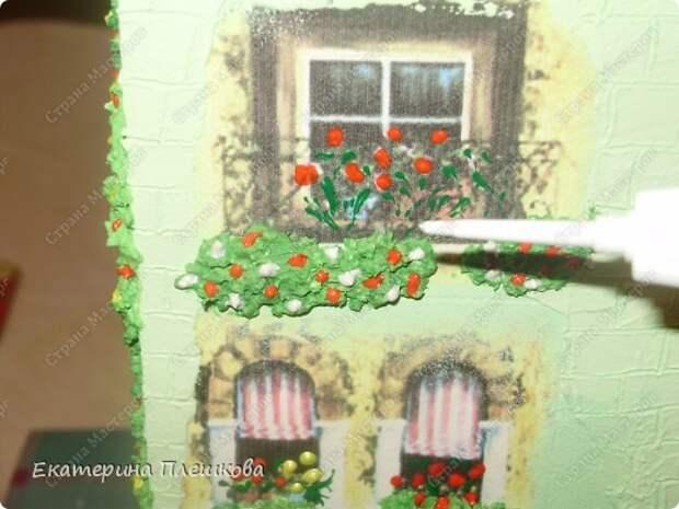 Декор предметов Мастер-класс 8 марта День рождения Декупаж МК Чайного домика Бумага Дерево Крупа фото 27