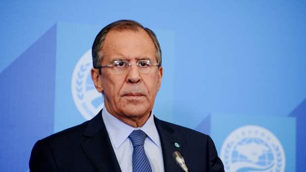 Лавров заявил о высылке десяти американских дипломатов