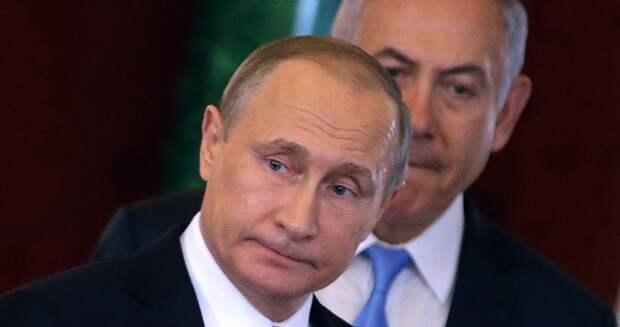 """Путин три с лишним часа промариновал Натаняху в """"предбаннике"""". Но тот только покрякивал..."""