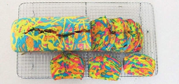 Mне казалось, приготовить этот разноцветный пирог очень сложно. Но на самом деле это проще простого!