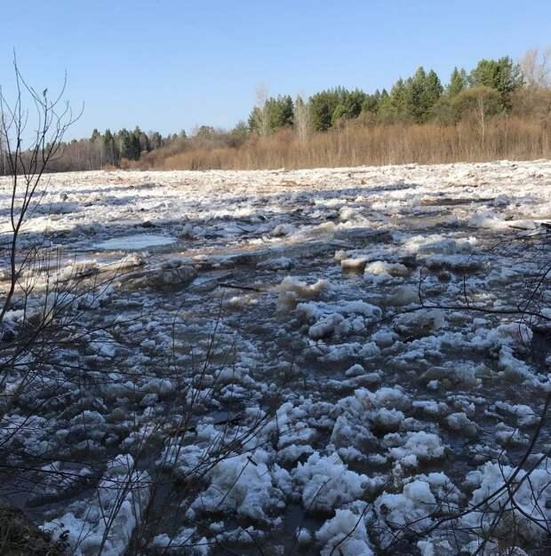 Из-за затора на реке Кильмезь в Удмуртии в зону подтопления могут попасть около 100 домов