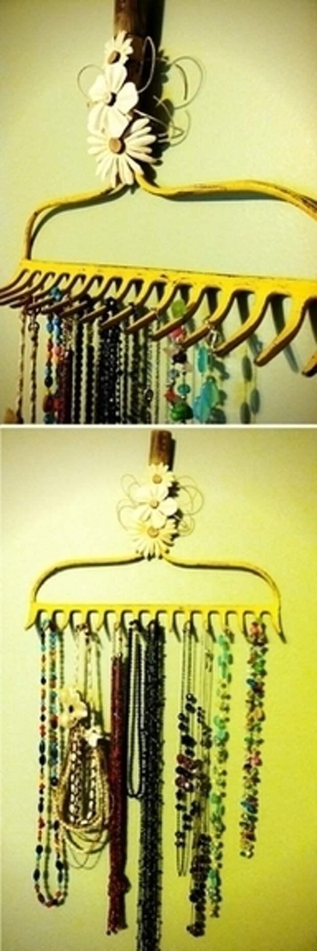 Необычное применение обычных вещей — идеи декора интерьера