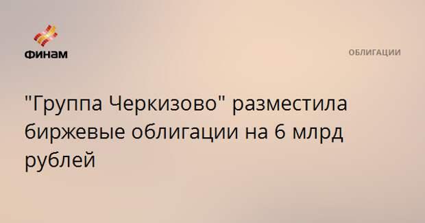 """""""Группа Черкизово"""" разместила биржевые облигации на 6 млрд рублей"""