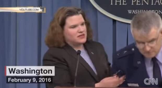 Американский генерал упал в обморок после вопроса, куда деньги дел (видео)