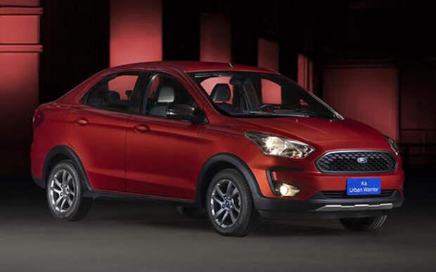 Ford рассекретил маленький и недорогой кросс-седан