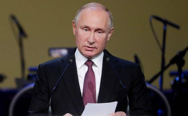 Путин назвал главную цель русофобов