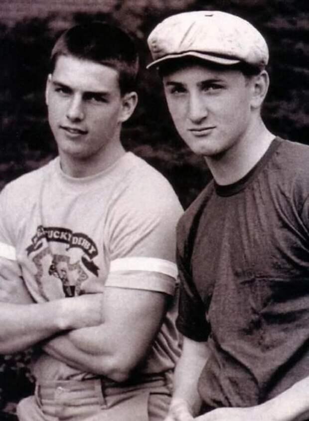 Том Круз и Шон Пенн, 1981 год история, картинки, фото