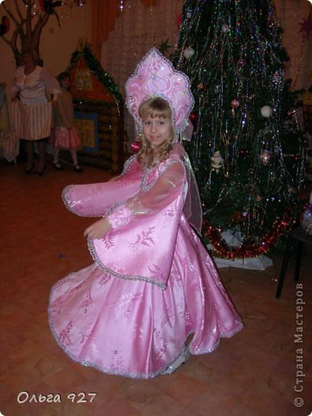 Как сшить кокошник к Новогоднему балу