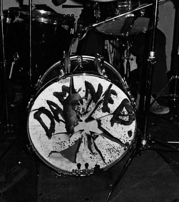 Порванный басовый барабан