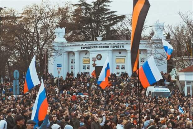 Севастополь: как это было год назад