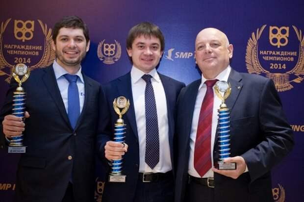 Дмитрий Саморуков (SMP Racing), Сергей Воробьев (Сочи Автодром), Сергей Иванов (РАФ)