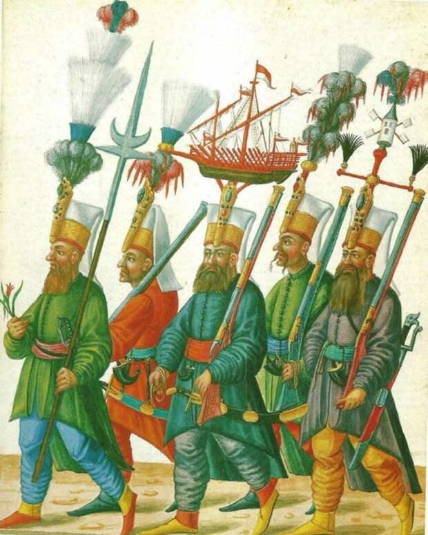 Янычары и бекташи