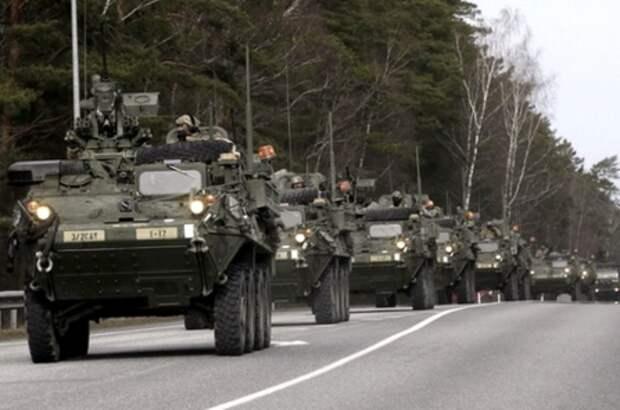 США увеличивают военное присутствие в Прибалтике