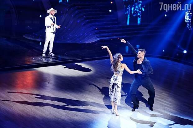 «Танцы со звездами»: Гусева на пределе, Лазарев падает от усталости, Дава опустошен