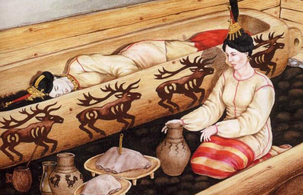 «Алтайская принцесса» и споры об останках