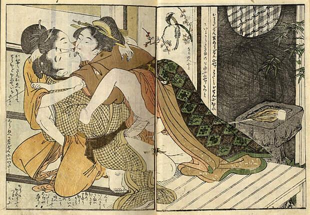 Сюнга: история японской порнографической живописи