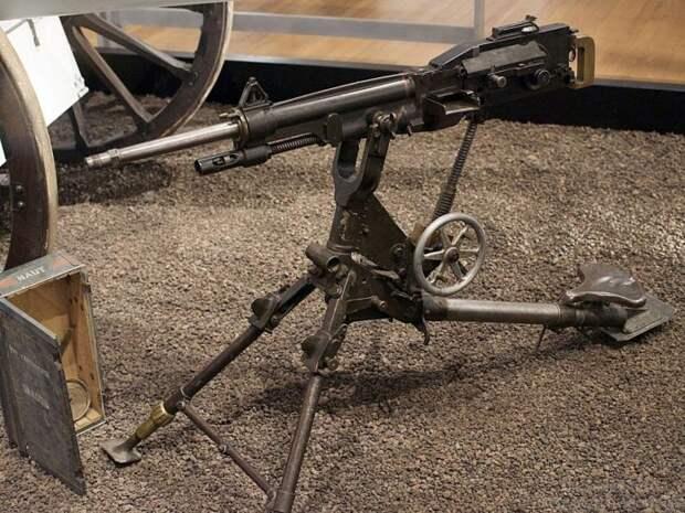 Арсенал Первой мировой: станковый пулемет Сент-Этьен