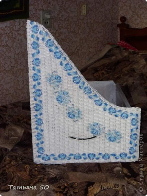 Интерьер Декупаж Плетение Переделки в ванной   Бумага Дерево фото 10