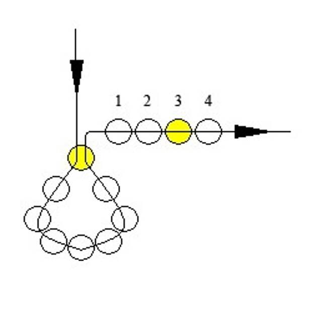 Схема ожерелья из бисера бесплатно