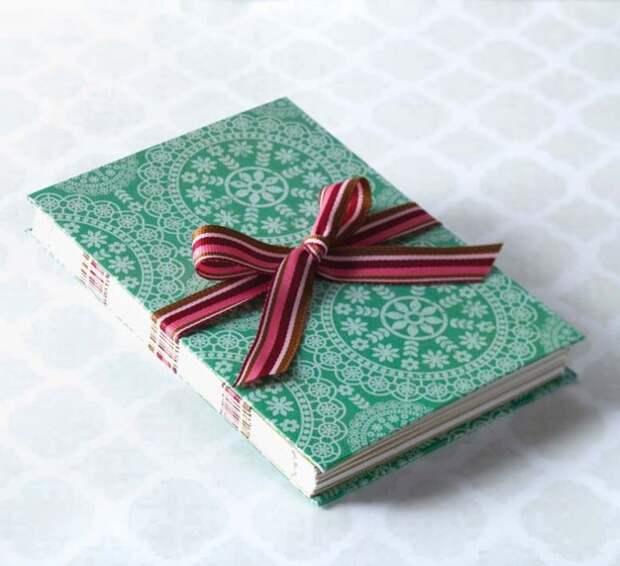 Как сшивать бумажные блокноты (подборка, Diy)