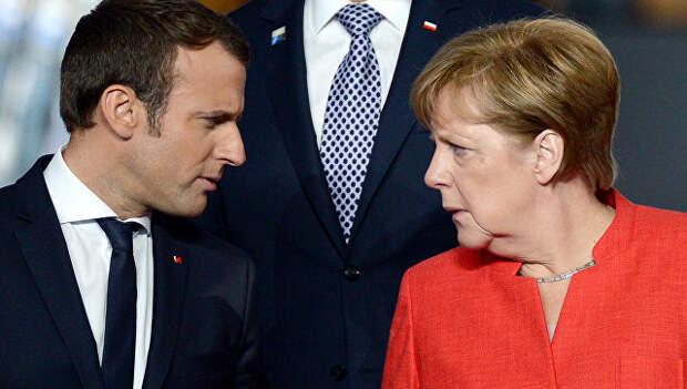 Стало известно, за что Меркель так не любит Макрона