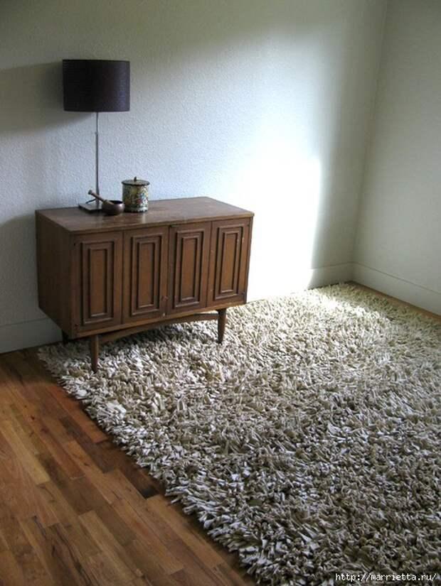 Коврики и подушки из трикотажа. Идеи и мастер-класс