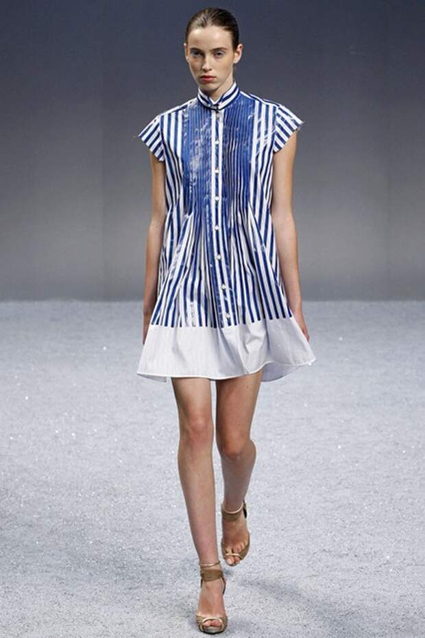 Платья из короткого свитера - от Sacai
