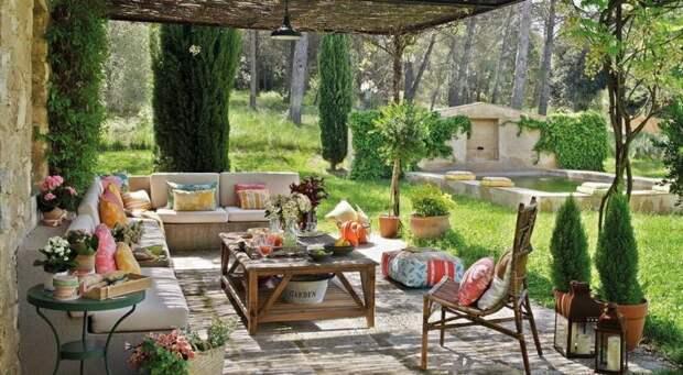 Дизайн красивой террасы: 6 практичных советов