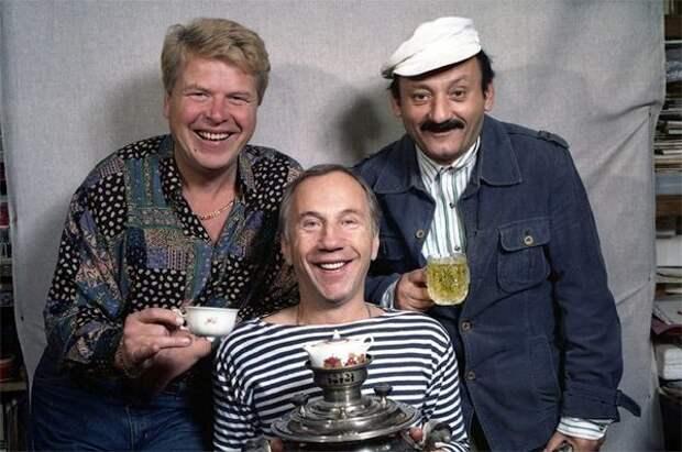 Михаил Кокшенов, Савелий Краморов и Семен Фарада // Фото: news24-7.ru