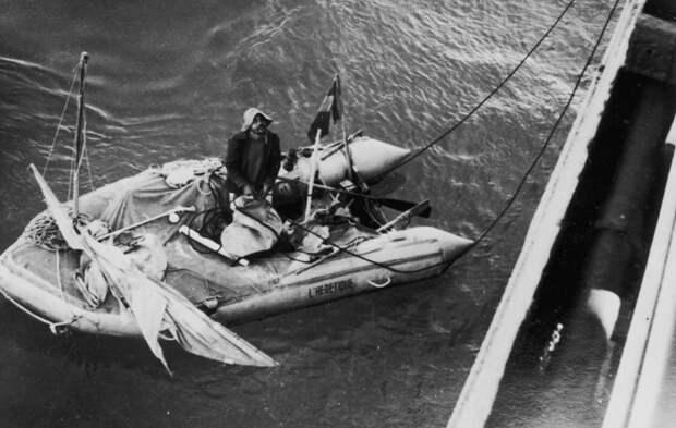Французский врач, выживший 2 месяца в открытом море