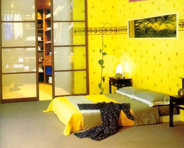 Желтый. Интерьер – 7 главных цветов