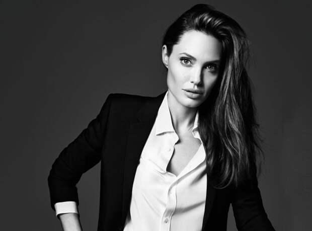 Анджелина Джоли (Angelina Jolie) - Фотосессия для журнала ELLE US (июнь 2014) Фотографии знаменитостей - Starer