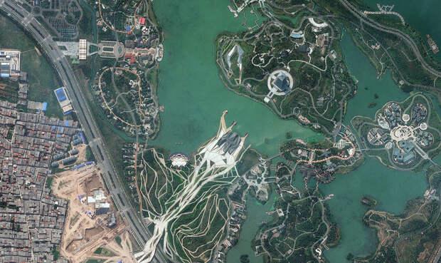 20 лучших спутниковых фотографий угода