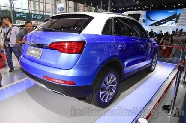 Китайцы запускают в серию клон Audi Q3