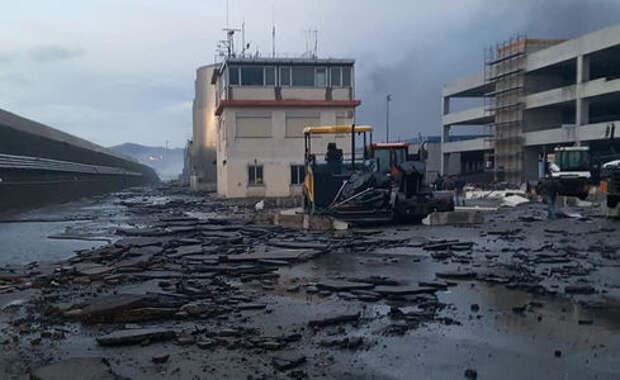 Сотни новых Maserati уничтожены в итальянском порту Савона