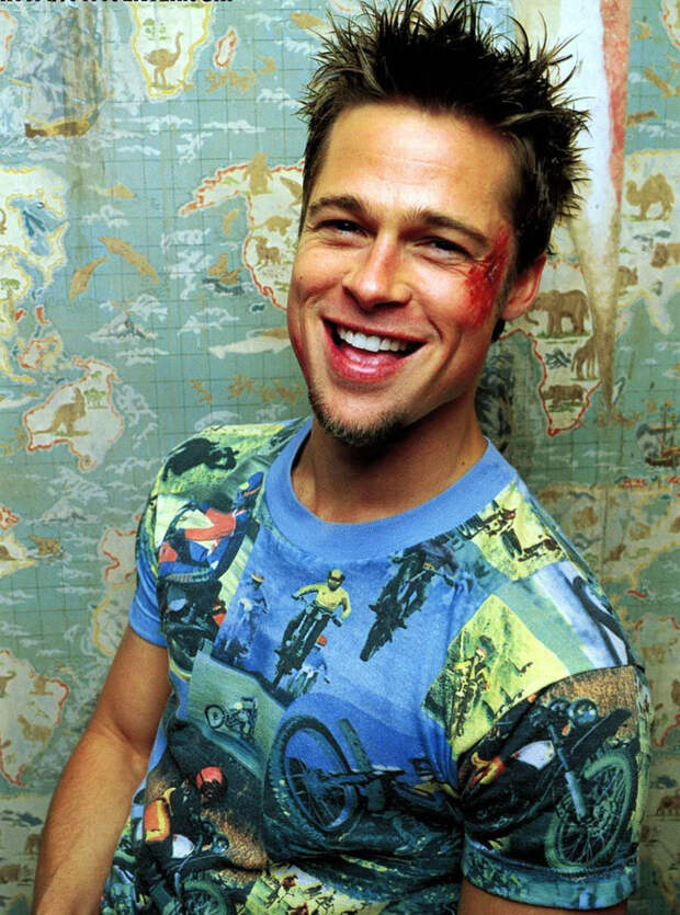 Брэд Питт (Brad Pitt) в фотосессии для фильма «Бойцовский клуб» (Fight Club) (1999), фото 2