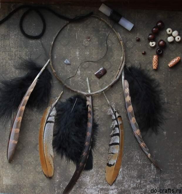 Как сделать ловец снов своими руками 7