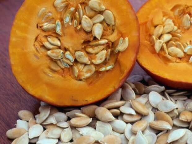 Полезные для здоровья свойства тыквенных семян