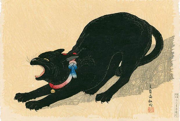 1. Котики суеверия, япония