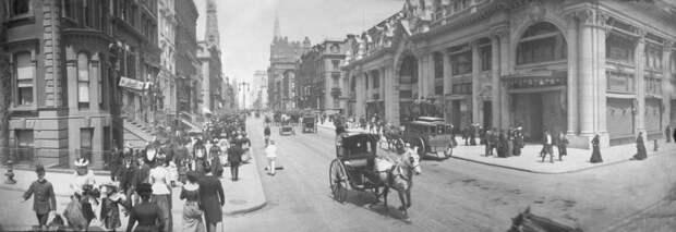 Каким был Нью-Йорк 100 лет назад