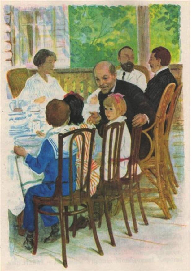 Администрация США и Владимир Ильич Ленин в наших тарелках