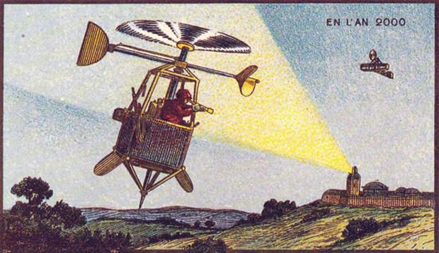 21 век глазами 20-го: фантазии наших предков о будущем